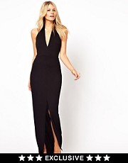 Love Maxi Dress with Wrap Front
