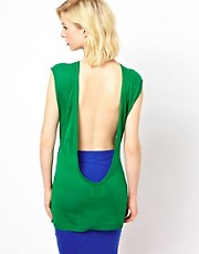 POP Cph Light Knitted Top with Open Back