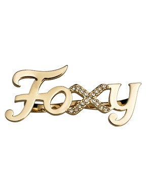 Image 2 ofWildfox Foxy Gold Ring