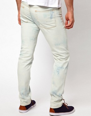 Image 2 ofASOS Skinny Jeans Bleached