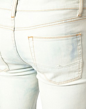 Image 3 ofASOS Skinny Jeans Bleached