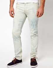 ASOS Skinny Jeans Bleached