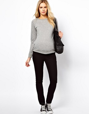 Image 4 ofASOS Maternity Exclusive Lightweight Sweatshirt