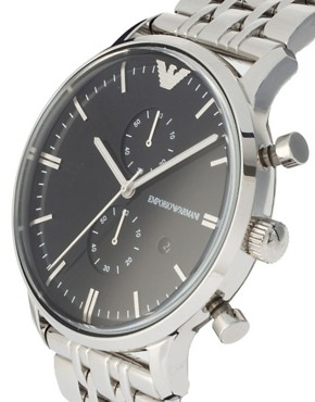 Image 4 ofEmporio Armani AR0389 Classic Stainless Steel Watch