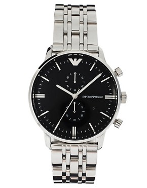 Image 1 ofEmporio Armani AR0389 Classic Stainless Steel Watch