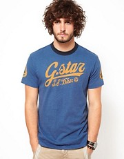 G Star T-Shirt Elwood Ski Logo