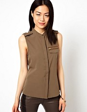 Vero Moda Blouse With Pocket Detail