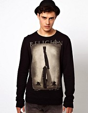 Religion Boots Sweatshirt