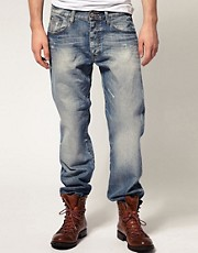 G Star - 3301 Jeans larghi