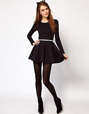 Kova &amp; T Violet Skater Dress