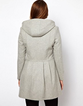 Image 2 ofASOS CURVE Swing Duffle Coat