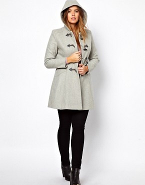Image 4 ofASOS CURVE Swing Duffle Coat