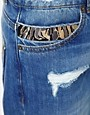 Image 3 of ASOS Boyfriend Jean with Stitch Detail