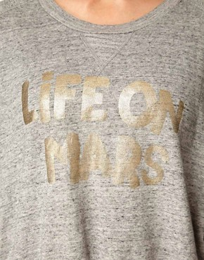 Image 3 ofGanni Life on Mars College Sweatshirt