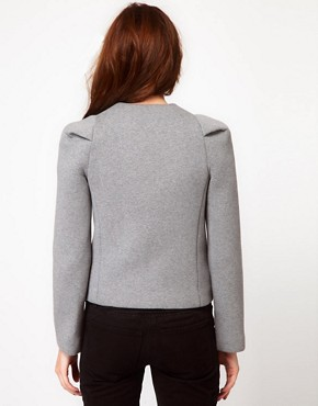 Image 2 ofIRO Structured Blazer with Pleated Shoulder