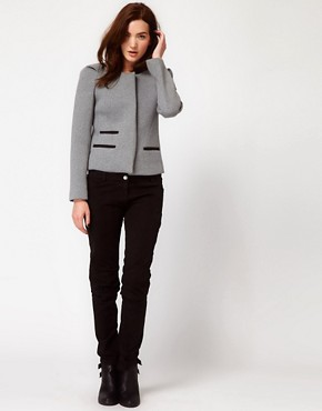 Image 4 ofIRO Structured Blazer with Pleated Shoulder