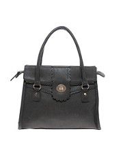 Oasis Scallop Lock Tote