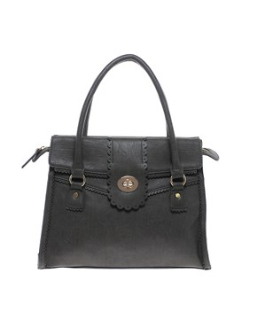 Image 1 ofOasis Scallop Lock Tote
