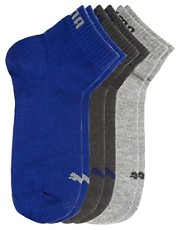 Pack de 3 pares de calcetines tobilleros de deporte de Puma