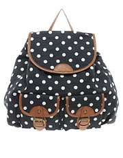 Aldo Ciardullo Spotty Canvas Backpack