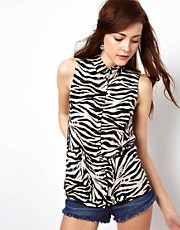 Vero Moda Zebra Shirt
