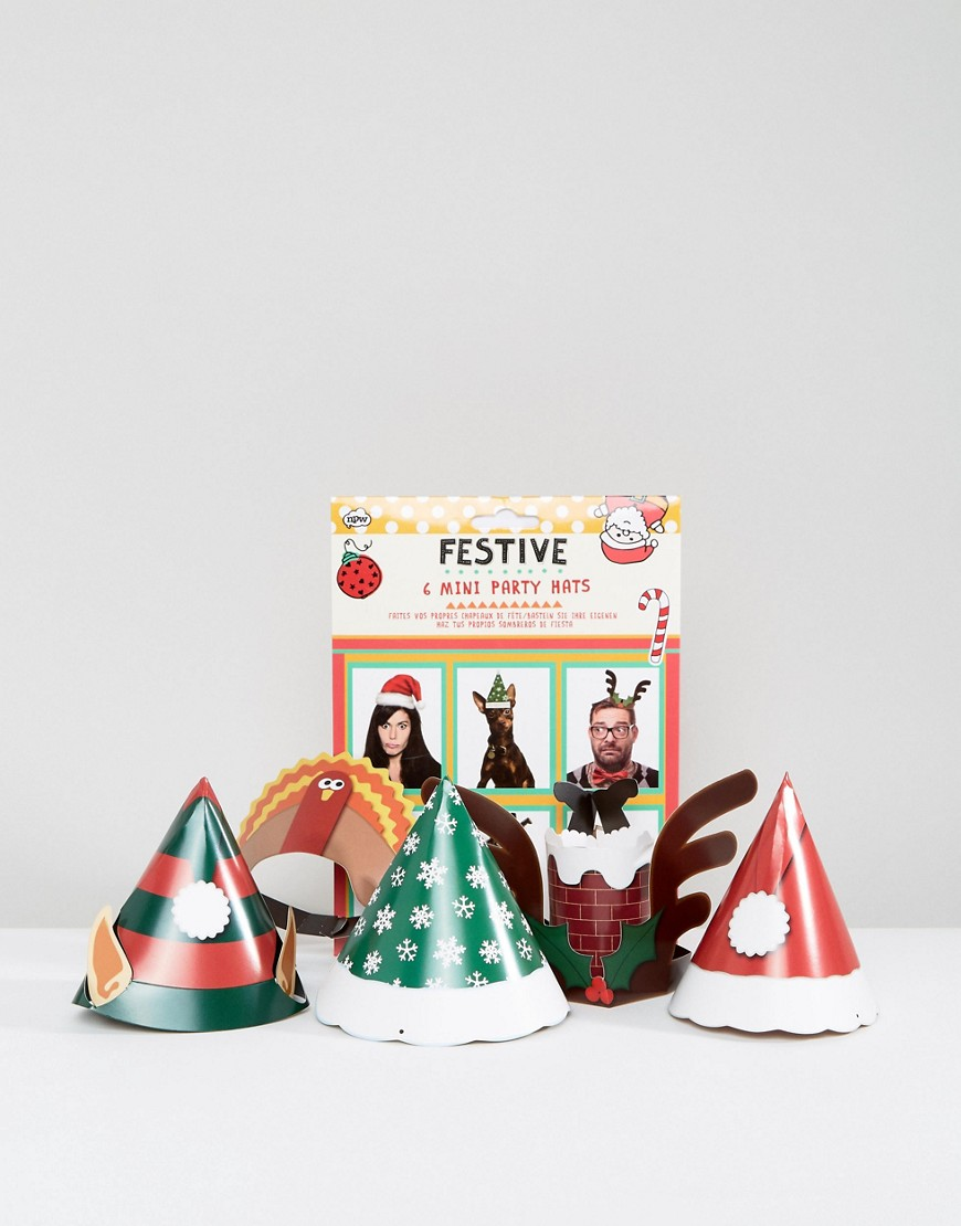 NPW Festive Holidays Party Hats - Multi