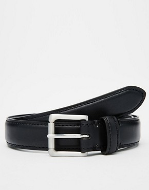 Racing Green Leather Belt