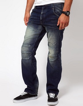 Image 1 ofG Star Jeans Tapered Elwood 3D
