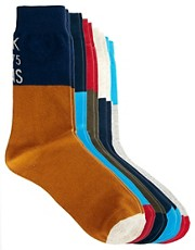 Jack &amp; Jones Keio 5 Pack Socks