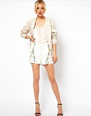 ASOS Shorts with Pretty Embroidery