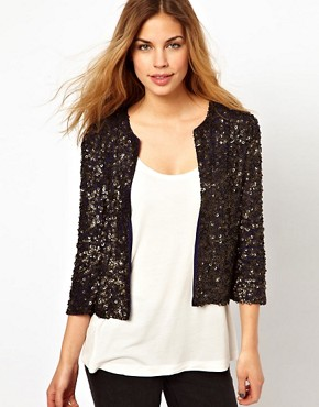 Image 1 ofGestuz Sequin Jacket