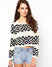 Minkpink Intarsia Jumper