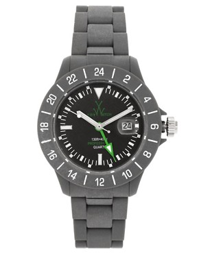 Image 1 ofToy Watch JET05GY Grey Plastic Strap Watch