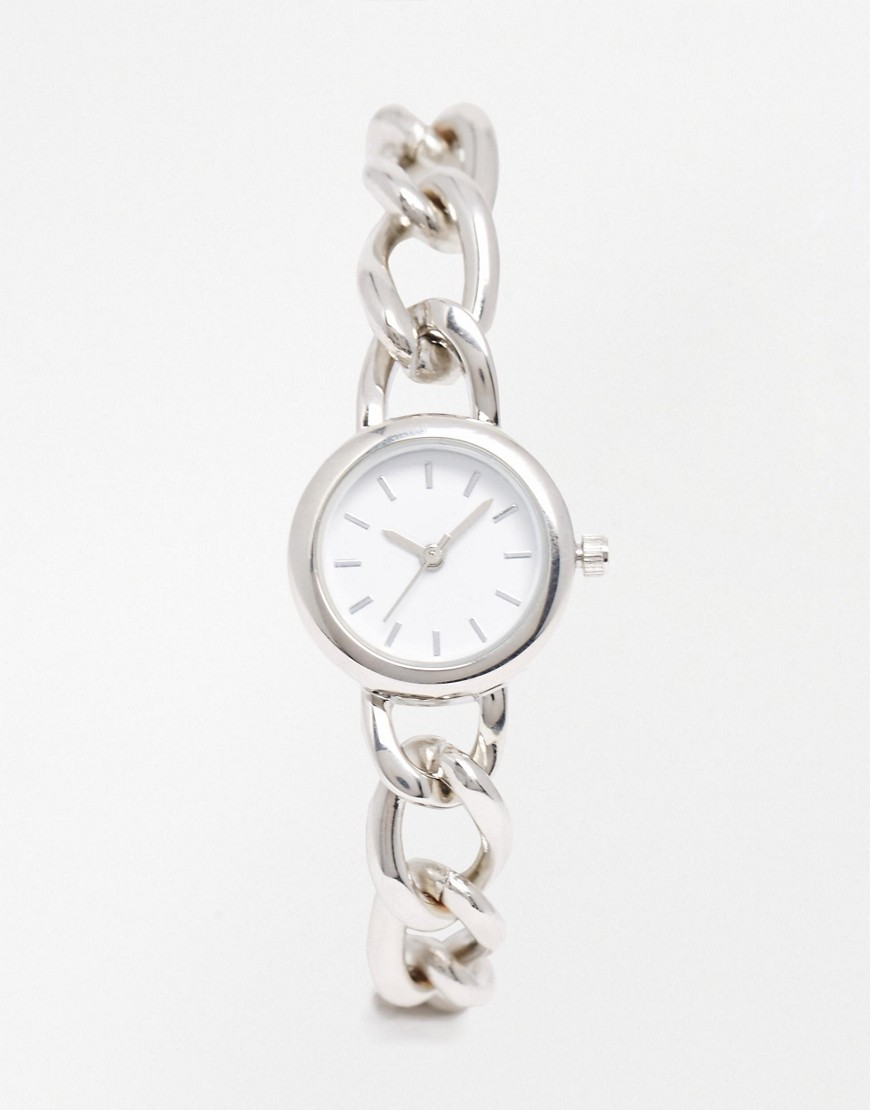 Image 1 of ASOS Chain Link Bracelet Watch