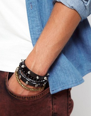 Image 2 ofRiver Island Skull Bracelet