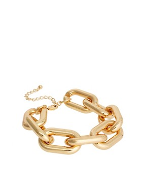 Image 1 ofASOS Chunky Link Chain Bracelet