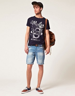 Image 4 ofJack &amp; Jones Intelligence Rider T-Shirt
