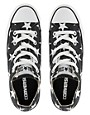 Image 3 ofConverse All Star Black Star Print Ox  Trainers