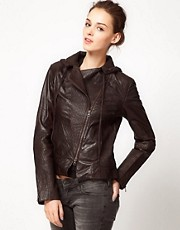 Improvd Motorcycle Leather Jacket