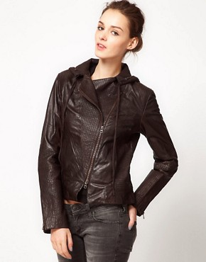 Image 1 ofImprovd Motorcycle Leather Jacket