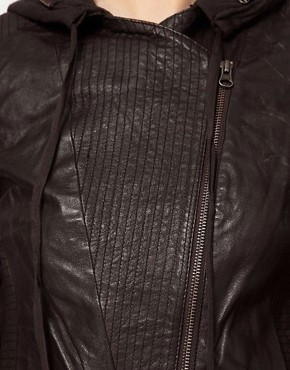 Image 3 ofImprovd Motorcycle Leather Jacket