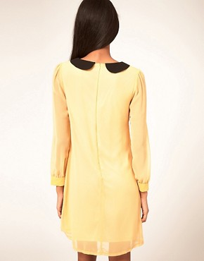 Image 2 ofMax C Dress With Contrast Collar