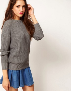 Image 1 ofAmerican Apparel Fisherman&#39;s Pullover