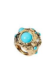 Kenneth Jay Lane Turquoise Ring