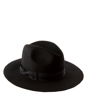 Image 2 ofASOS Wide Brim Fedora Hat