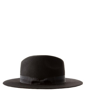 Image 4 ofASOS Wide Brim Fedora Hat
