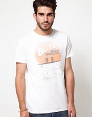 Edwin - Blitz Collab - T-shirt con stampa &quot;Into The Sun&quot;