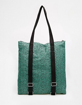 ASOS Canvas Shopper Bag with Backpack Strap