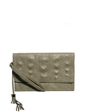Religion Studded Clutch