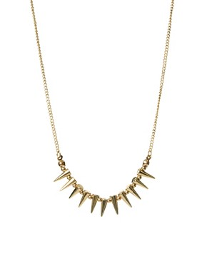 Image 1 ofASOS Mini Spike Choker Necklace